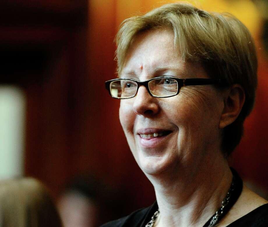 Sen. Cathy Osten, D-Sprague Photo: Jessica Hill / Associated Press / FR125654 AP