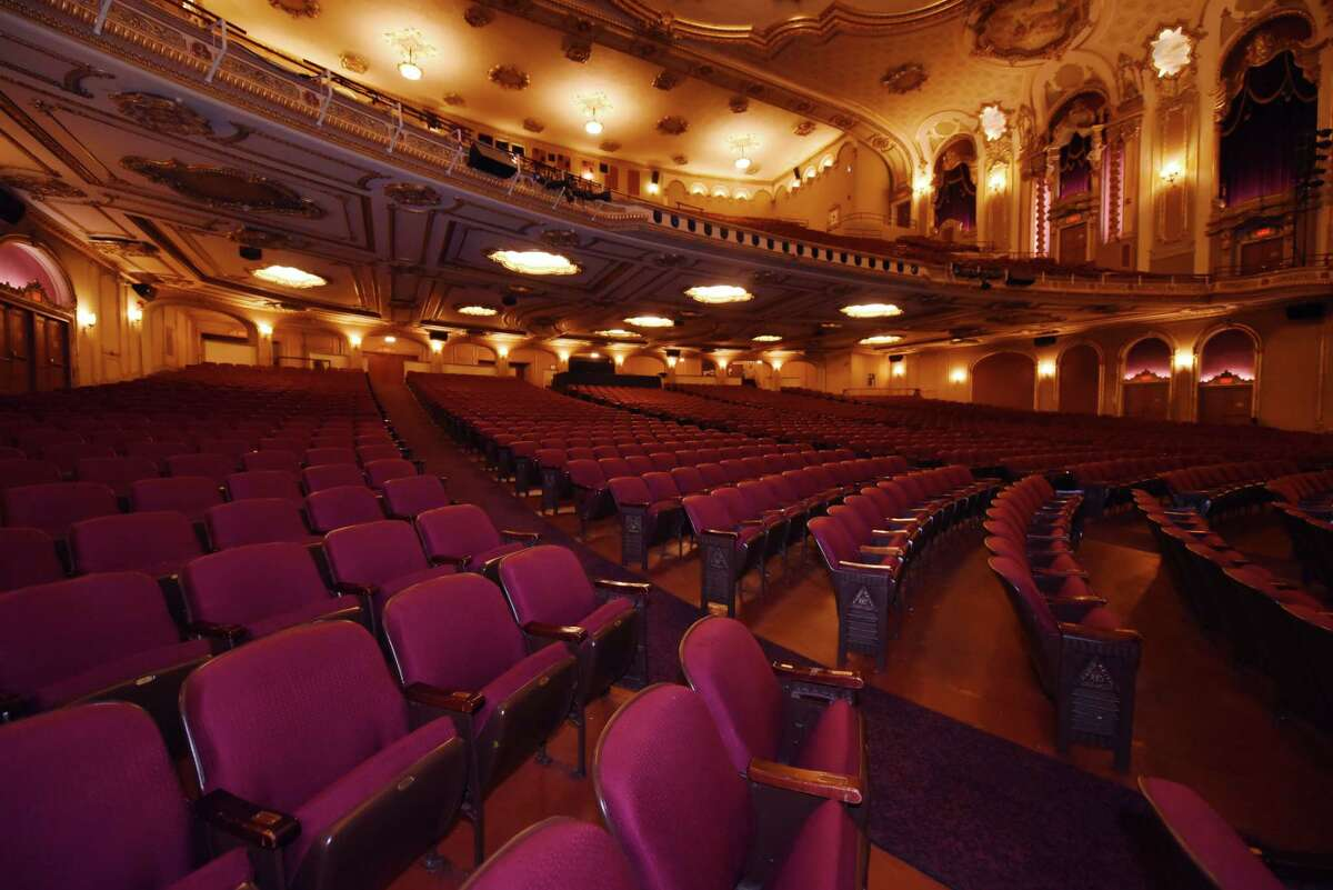 A view inside the Palace Theater Thursday, Jan. 24, 2019 in Albany, N.Y. (Phoebe Sheehan/Times Union)