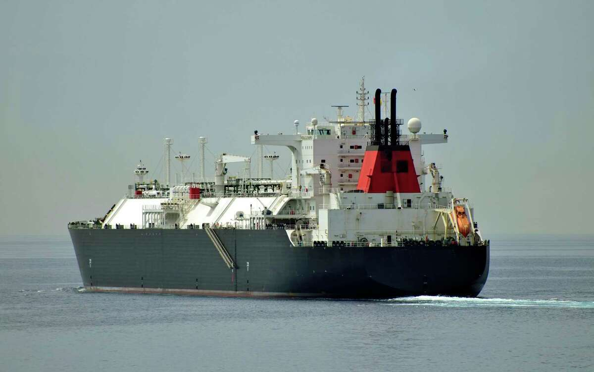 LNG tanker.