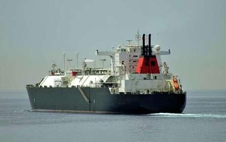 Gas tanker LNG