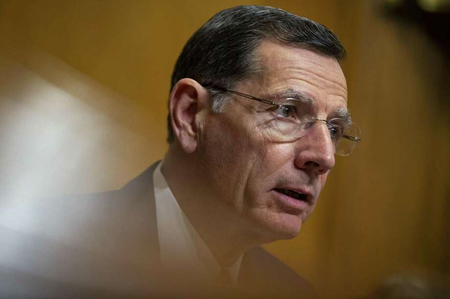 Sen. John Barrasso, R-Wyo., chairman of the Senate Environment and Public Works Committee, wants to do away with subsidies for electric vehicles. NEXT: See the Tesla Model 3 in Houston. Photo: Al Drago / Bloomberg / © 2019 Bloomberg Finance LP