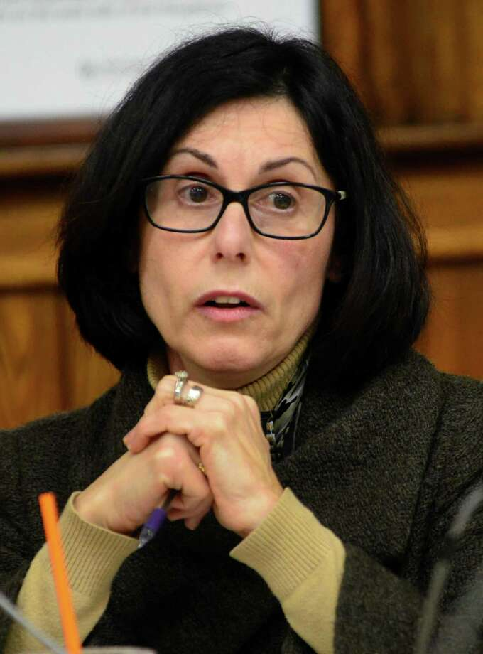 Carol Merlone, Ansonia's retiring superintendent of schools Photo: Christian Abraham / Hearst Connecticut Media / Connecticut Post