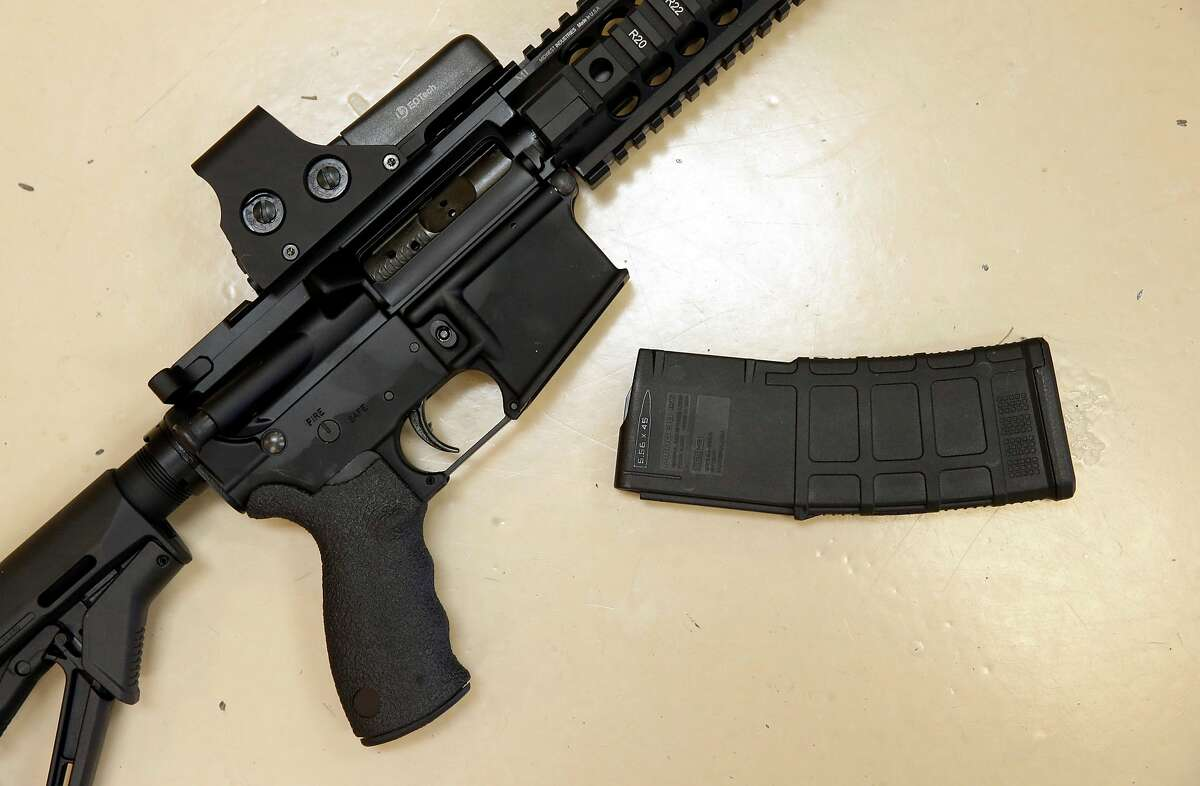 South Dakota Fire arms industry rank: 4 Gun prevalence rank: 19 Gun politics rank: 1 (tie) Overall score: 76.54 Overall rank: 3 (AP Photo/Rich Pedroncelli, File)