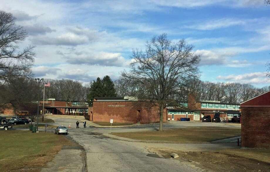Ponus Ridge Middle School. Photo: Thane Grauel / Hearst Connecticut Media / Connecticut Post