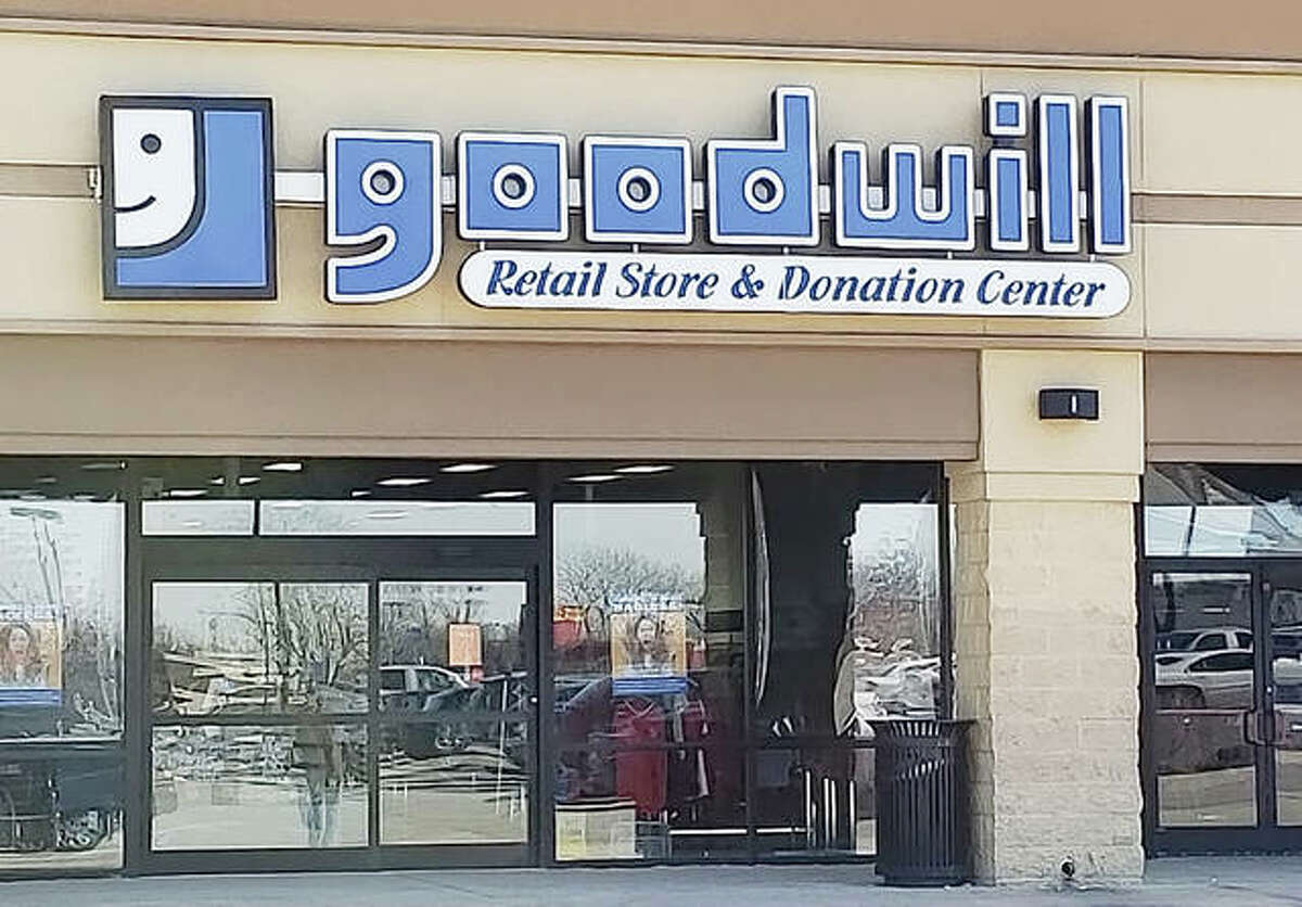 The Glen Carbon Goodwill store has stopped using plastic bags and encourages customers to bring their own bags or buy a $1 reusable tote bag.