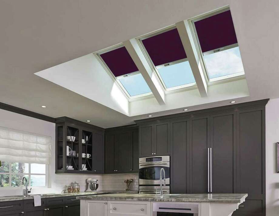 Smart skylight technology improves indoor air quality. (Courtesy of VELUX)