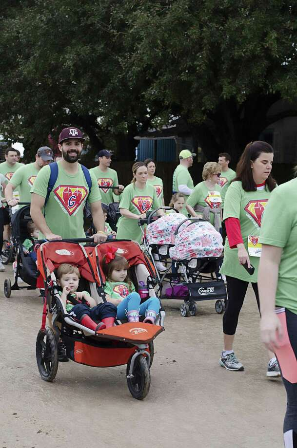 The fourth annual Graeme's Run will be Feb. 9 at No Label Brewery, 5351 1st St. in Katy. Registration fees go to The Children's Heart Foundation and to Hayden's Heart. The event includes a 1-mile family walk, a 5K competitive run, food and live music on two stages. Visit www.graemessuperheroes.org or call 281-693-7545 for information. Above is a scene from last year's event. Photo: Http://www.graemessuperheroes.org / Http://www.graemessuperheroes.org