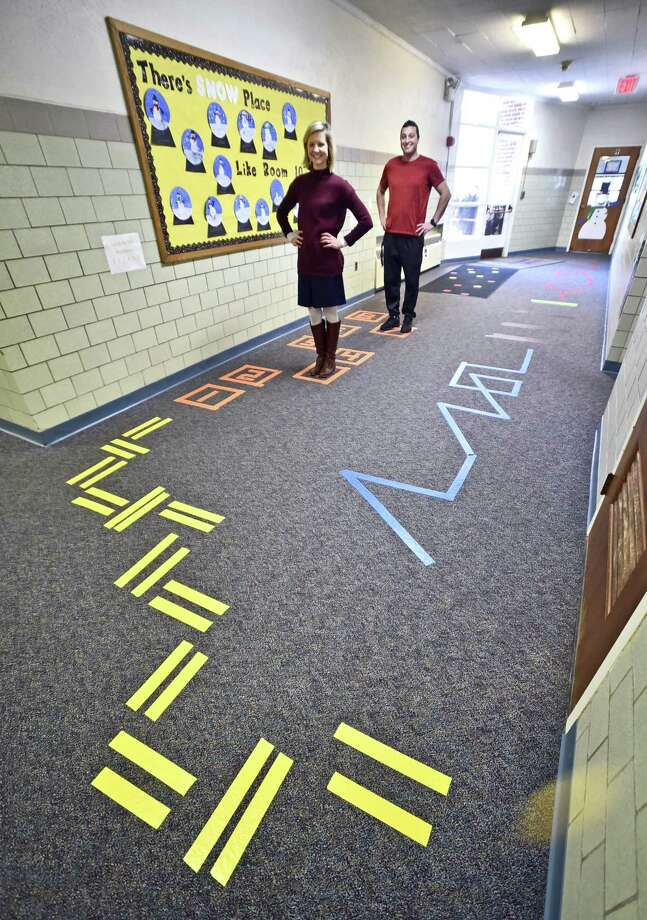 Sensory walkway helps Madison elementary school students ...