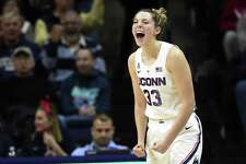 UConn's Katie Lou Samuelson expects to play in Friday's NCAA opener against Towson after missing four games with a back injury.