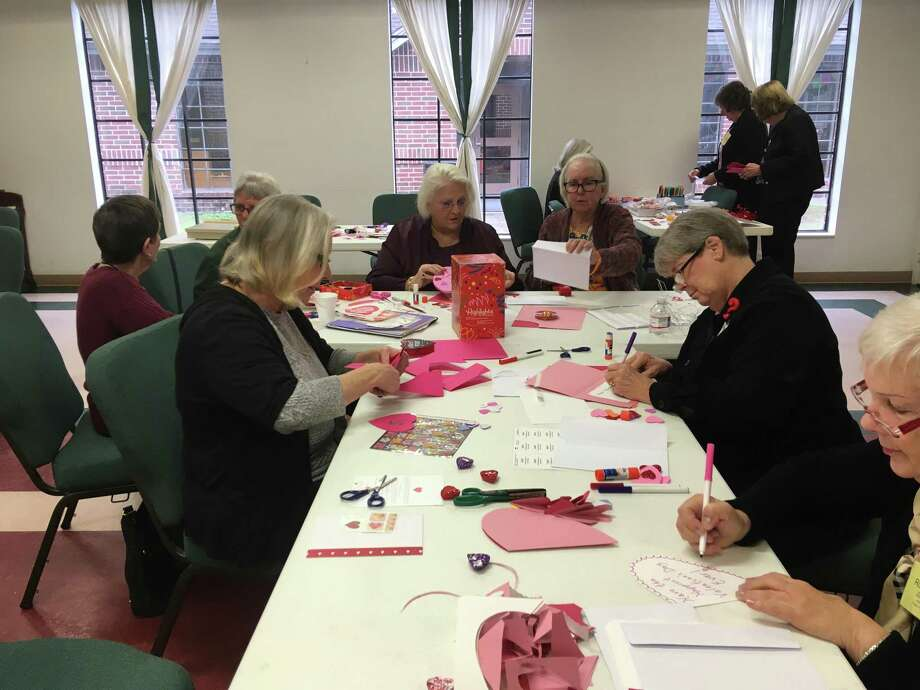 SMART, which stands for South Montgomery Area Retired Teachers, is a local chapter of the Texas Retired Techers Association, or TRTA. The group advocates for improved benefits as well as hosts volunteer and social activities. Here, at their January meeting, they make valentines for a local senior living facility. Photo: Courtesy Photo / Courtesy Photo