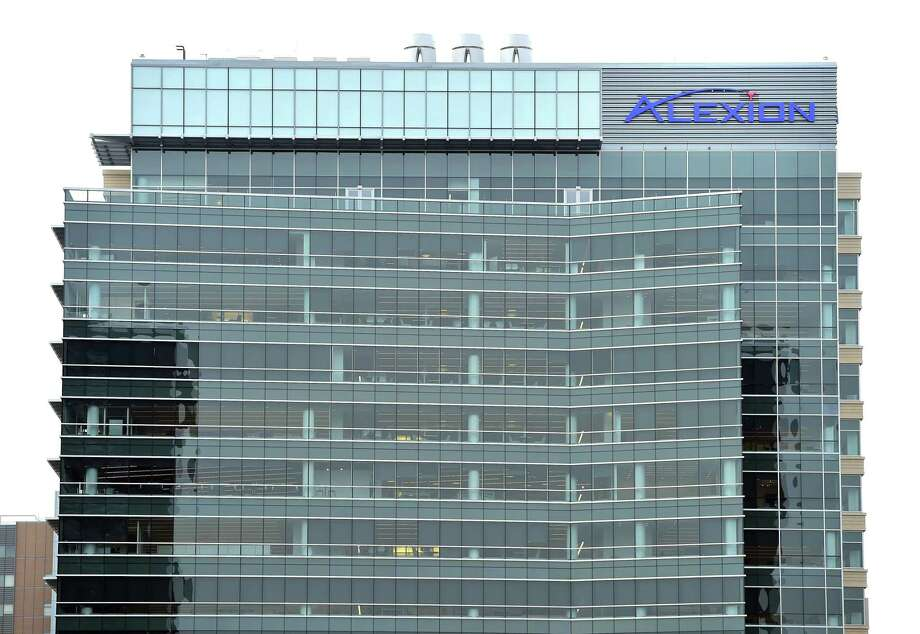 The Alexion Pharmaceuticals building  in New Haven in 2016. Photo: Hearst Connecticut Media File