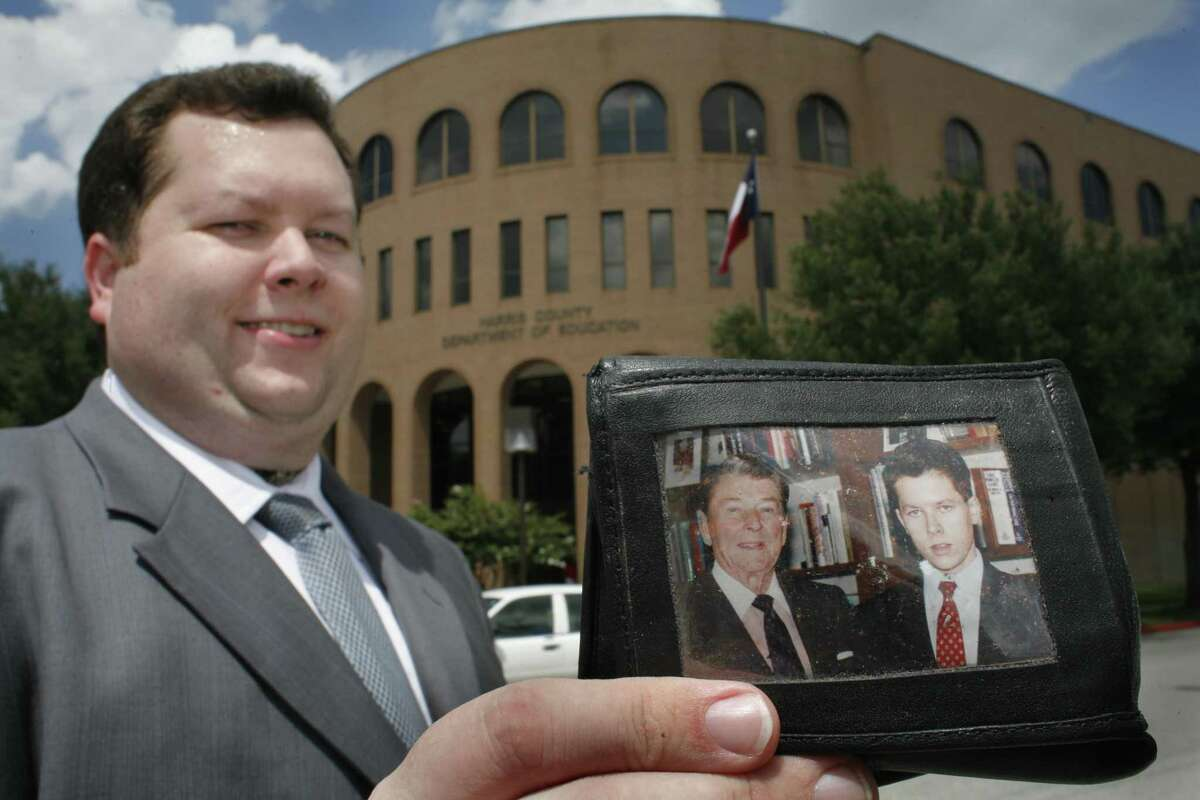 Harris County Department of Education Trustee Michael Wolfe shown in 2007. (Steve Ueckert / Chronicle)