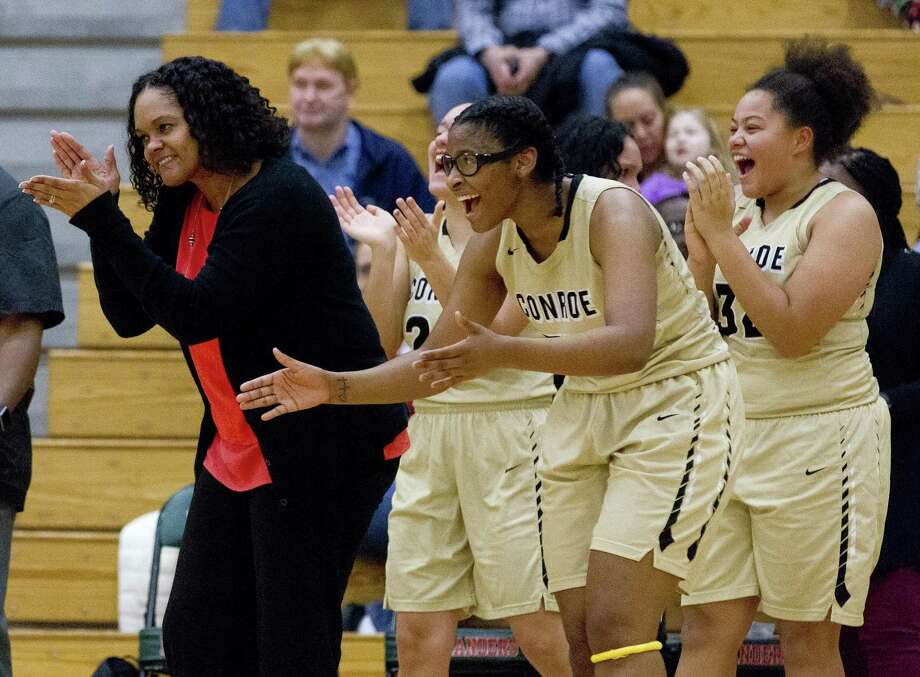 Tamisha Houston of Conroe is The Courier's Coach of the Year. Photo: Jason Fochtman, Houston Chronicle / Staff Photographer / © 2019 Houston Chronicle