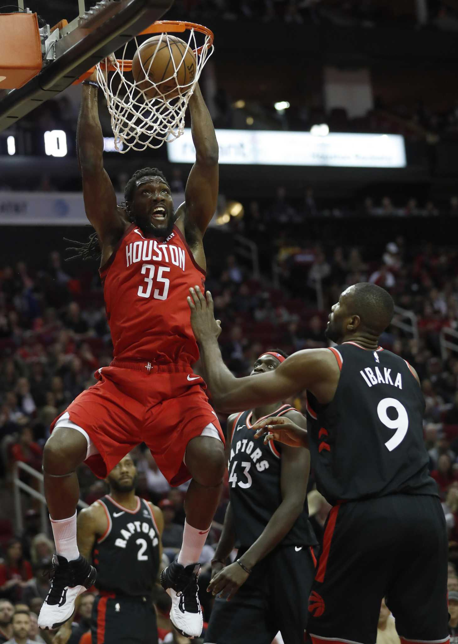 New Arrival Kenneth Faried Invaluable As Rockets Clip