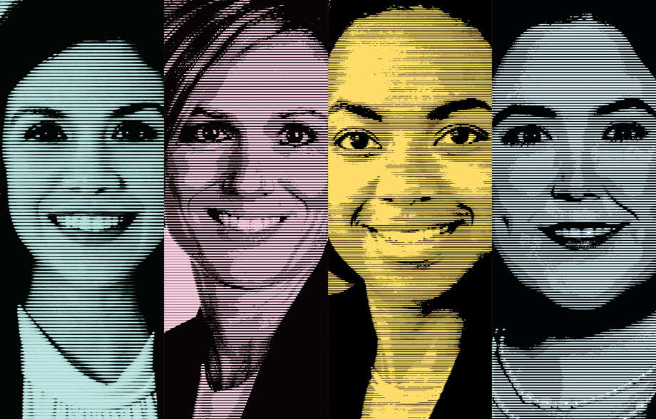 Despite the challenges, young women from the millennial generation are finding their way to big jobs in some of Houston's most influential corporations. Here are ones to watch. Photo: Robert Wuensche / Houston Chronicle Illustration