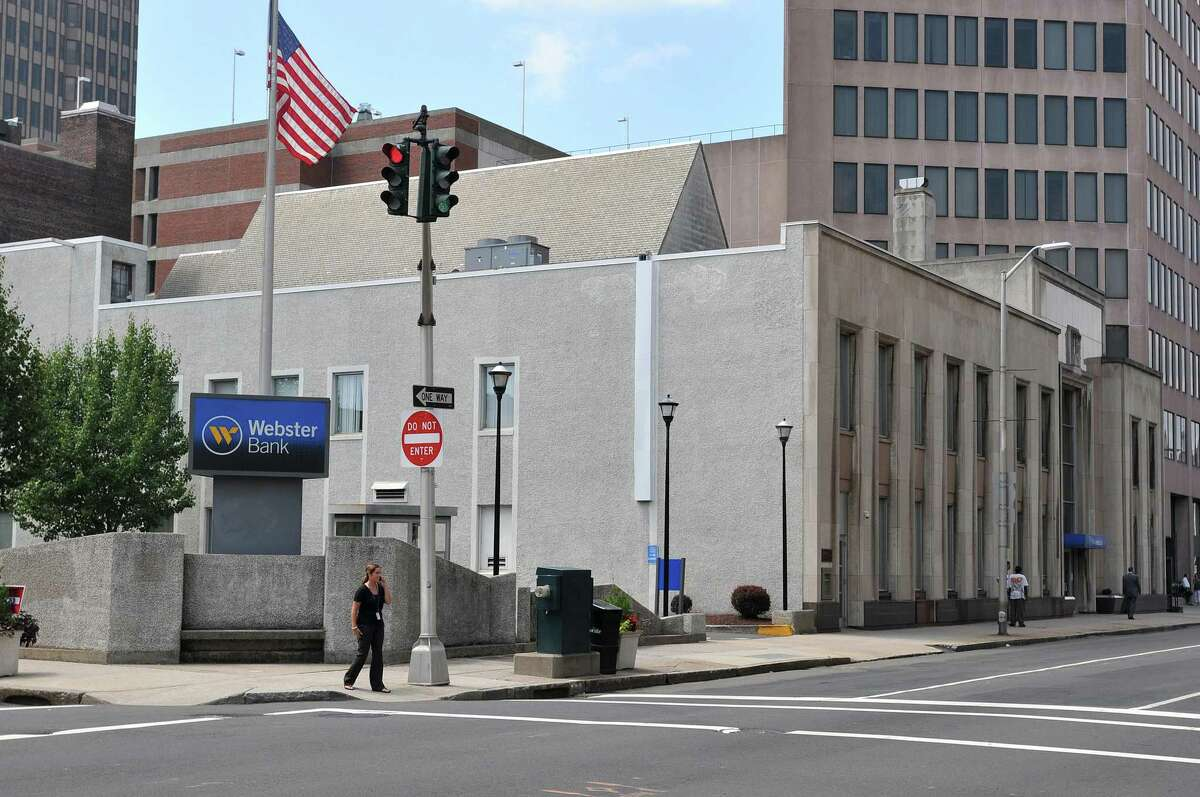 In this file photo, the former site of Webster Bank at 80 Elm St. in New Haven.