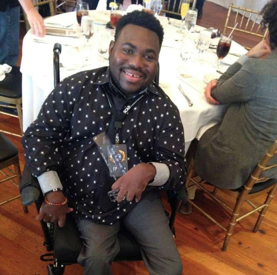 """Ajani A.J. Murrary, an actor who stars in the film """"Becoming Bulletproof,"""" will be at the Inspire Film Festival this year where the movie will be shown. Murray, who has cerebral palsy, said while great strides have been made for inclusivity and diversity in regard to race and sexual orientation, society needs to be more accepting of all people with disabilities. Photo: Photographs Courtesy/Ajani A.J. Murray / Photographs Courtesy/Ajani A.J. Murray"""