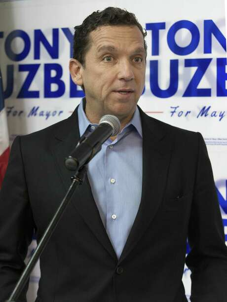 High-profile lawyer Tony Buzbee, shown her in January, is running for Houston Mayor, for whom he once hosted fundraiser.