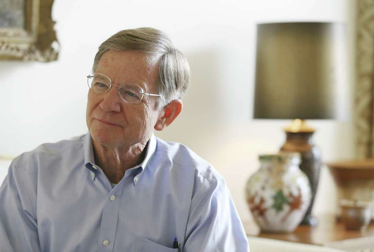 Former Congressman Lamar Smith, who left Congress this month after more than 30 years in the House of Representatives, reflects on his time in office, his accomplishments and what lies in his future on Thursday, Jan. 10, 2019. (Kin Man Hui/San Antonio Express-News)