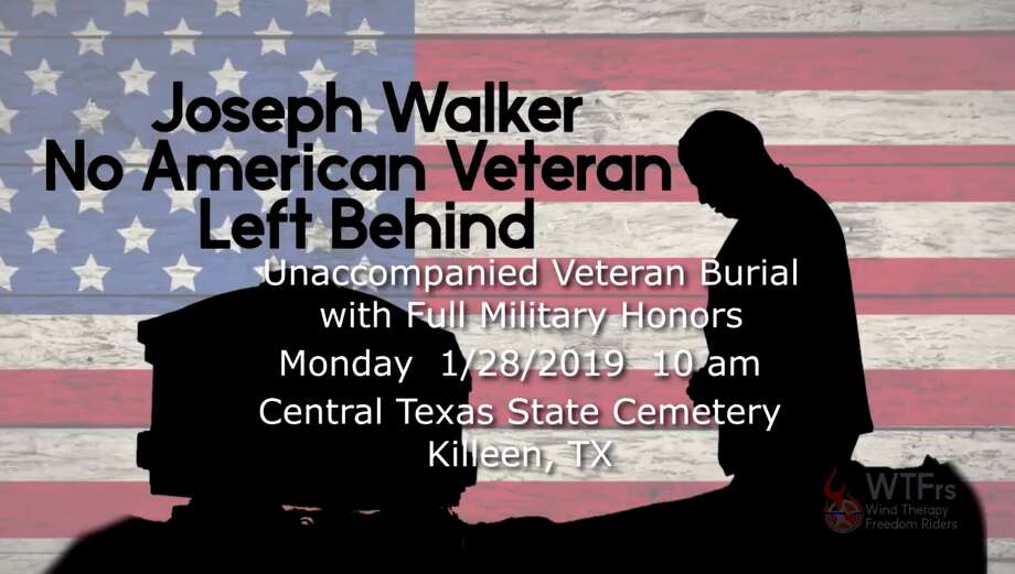 The Ride to Honor Joseph Walker, American Veteran, will be 8 a.m. Monday, Jan. 28, at the Central Texas Harley-Davidson in Round Rock. Photo: Facebook Screen Grab