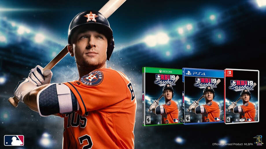 PHOTOS: A look inside Astros' FanFest on Saturday The Astros' Alex Bregman will be on the cover of the RBI Baseball 19 video game. Photo: Hand-out/MLB