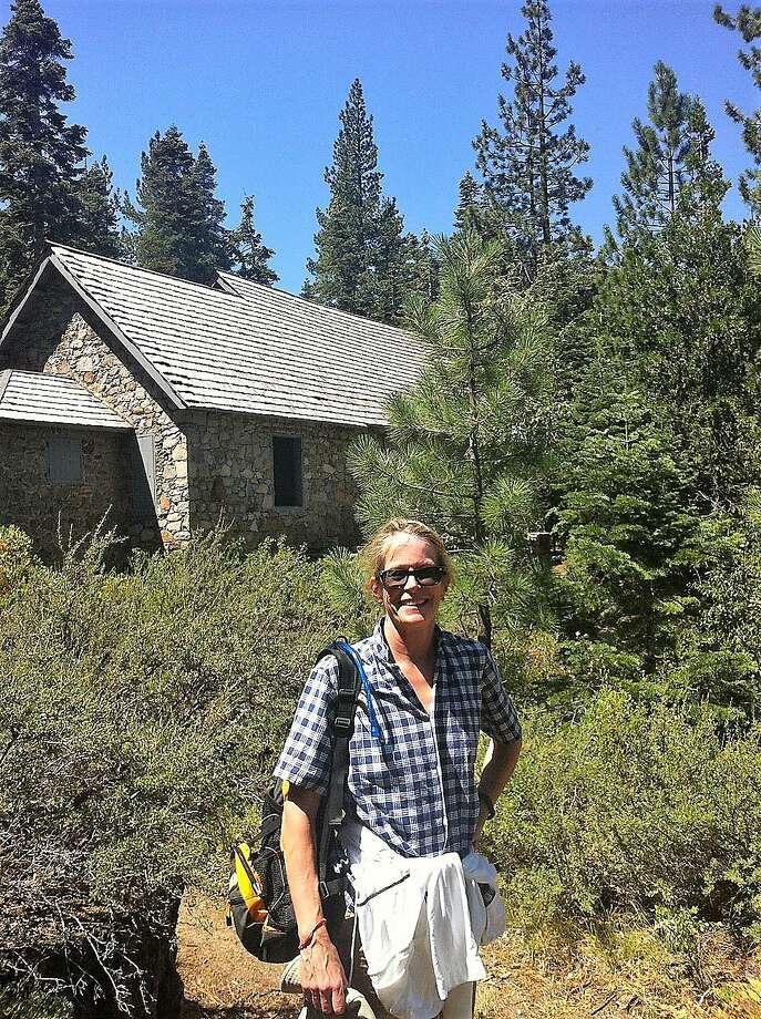 Edith Andrews Tobin in the Lake Tahoe area. Photo: Courtesy Joseph Tobin