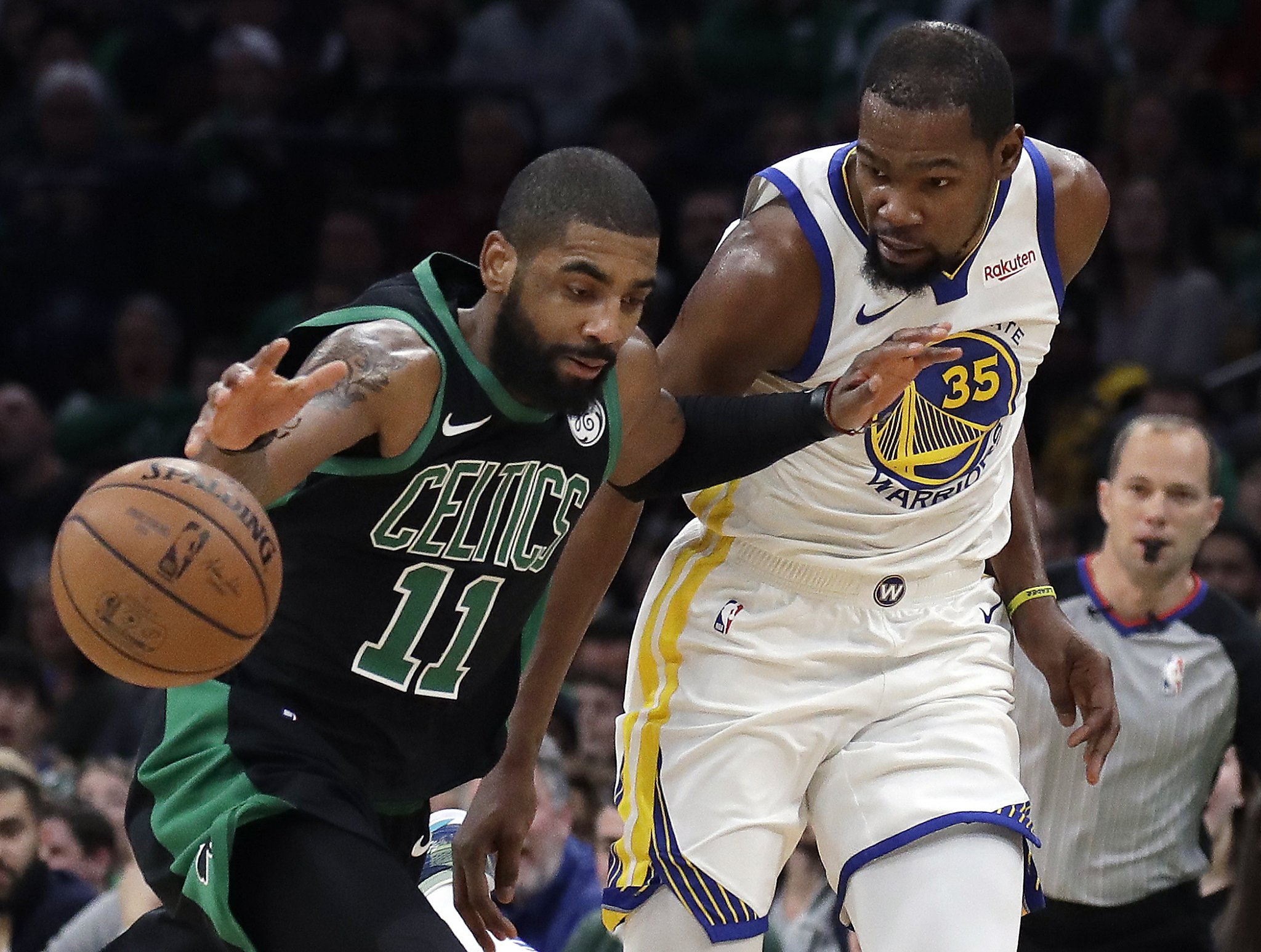 ffd97dfd1 Kyrie Irving is also tired of the endless speculation linking him and Kevin  Durant to the Knicks - HoustonChronicle.com
