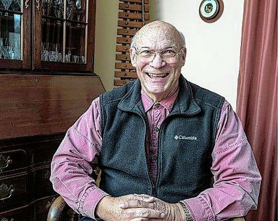 Former Coast Guard Lt. Don Uchtmann had earned a bachelor's degree in agricultural science at the University of Illinois in June 1968, studied law during his stint in the Coast Guard and completed law school at Cleveland State University in 1974. He now is a faculty member combining his studies of law, economics and agriculture. Photo: Rick Danzl   The News-Gazette (AP)