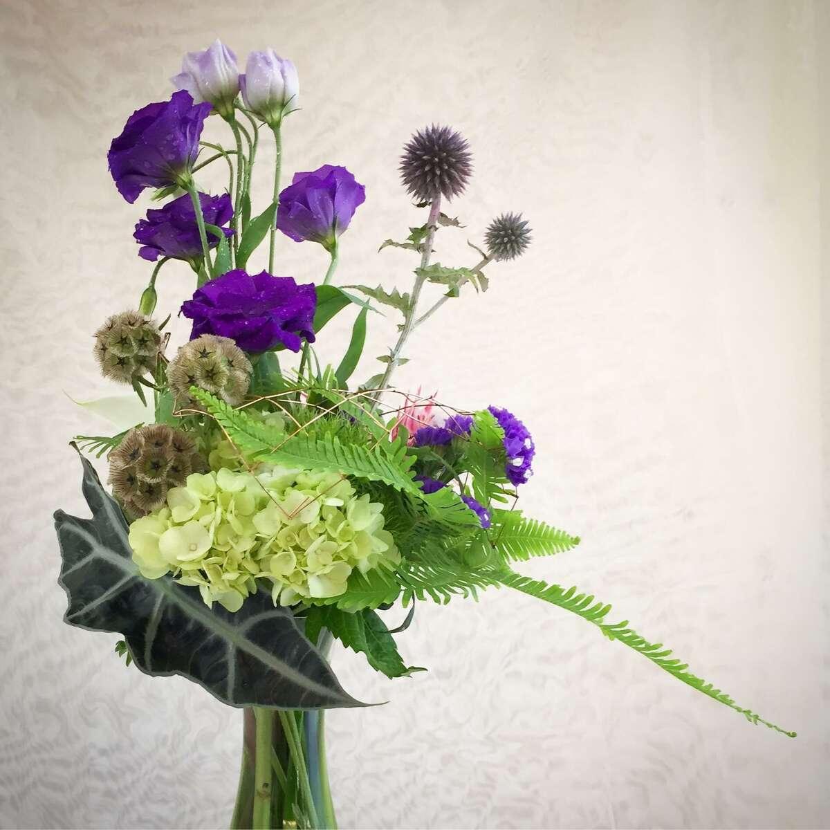 Green Dahlia Florist owner Catherine Epright's design