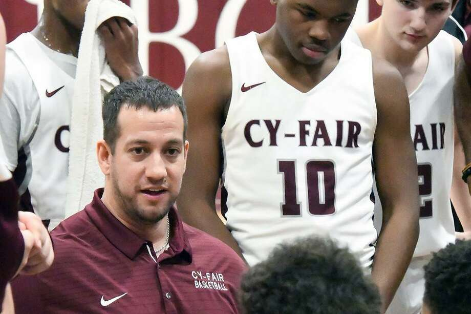 Cy Fair boys basketball 2018 Photo: CFISD