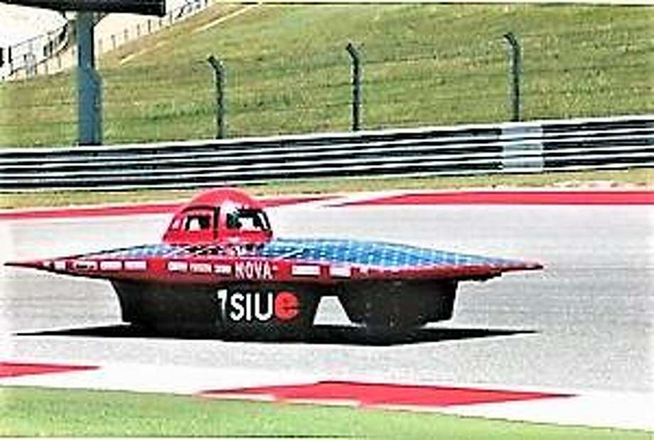 Nova solar car sponsored by SIUE. Photo: For The Telegraph