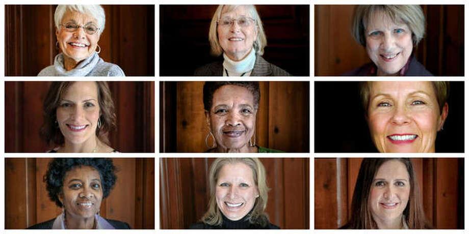Previous YWCA of Alton Women of Distinction Academy honorees.