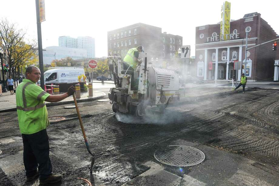 Brook Run Lane, Fifth Street, Clearview Avenue, Crystal Street and Canal Street are the next five roads scheduled to be paved in Stamford. Photo: Michael Cummo / Hearst Connecticut Media / Stamford Advocate