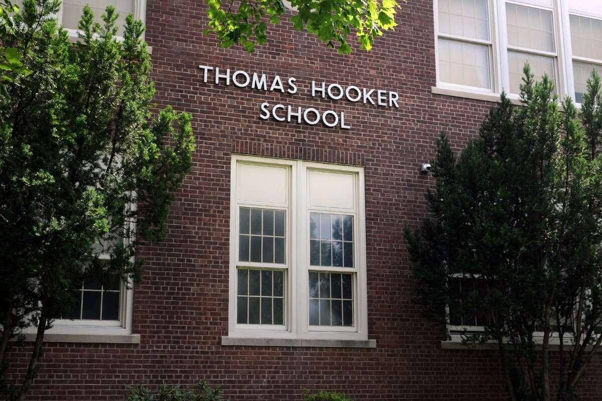 Thomas Hooker School, in Bridgeport, Conn. Aug. 25, 2016.