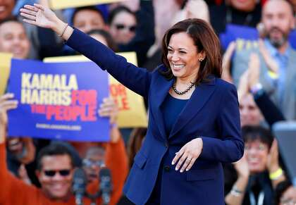 Sen Kamala Harris Airing First Tv Ad Of 2020 Campaign In Iowa Sfchronicle Com