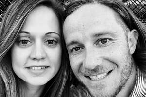 Benjamin Hirsch-McShane, 35, of San Francisco, is shown with his wife, Sarah McShane. He was killed in an avalanche while backcountry skiing in southwest Montana on Friday.