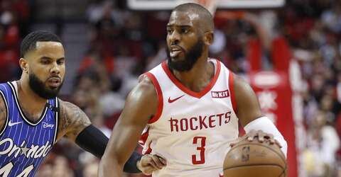 c75963c231a  p Houston Rockets guard Chris Paul (3) brings the ball outcourt past