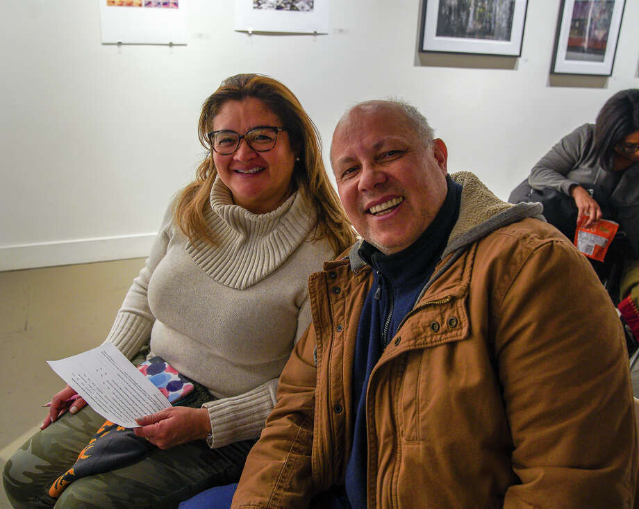 Guests filled the Kehler Liddell Gallery on Whalley Avenue in New Haven for their BYO-Picnic Indoor Winter Concert series on Jan. 27, 2019. This in attendance listened to the music of the New Haven-based Caribbean Vibe Steel Drum Band and enjoyed soup by Sopa New Haven. Were you SEEN? Photo: Kaylah Gore