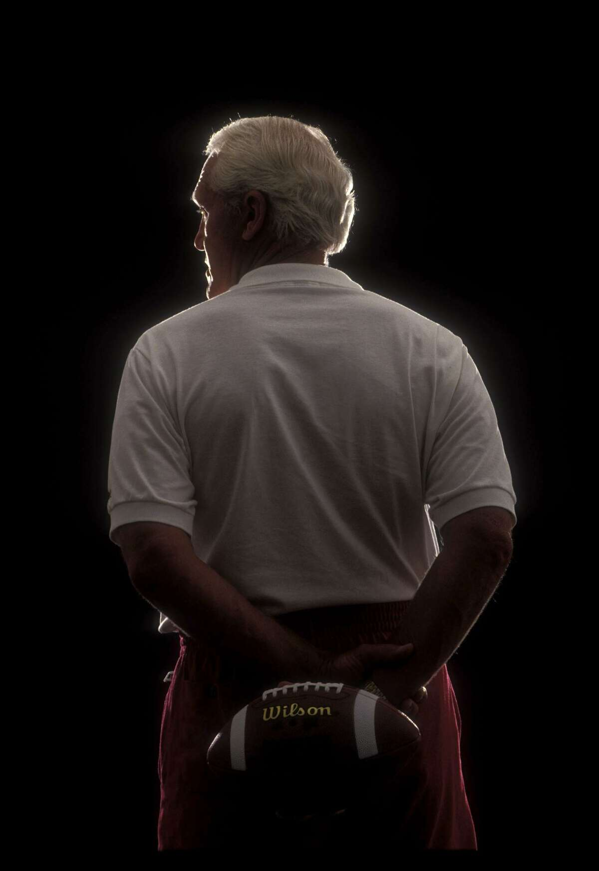 Bill Walsh, the inventor of the West Coast Offense. Walsh, guided the San Francisco 49ers to three Super Bowl championships and six NFC West division titles in his 10 years as head coach.