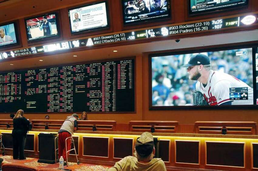 New York's regulations would allow sports gambling at the four upstate commercial casinos and Native American-owned casinos.