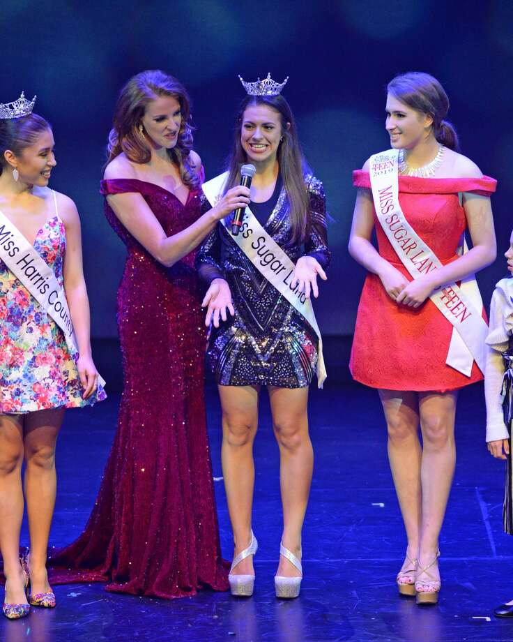 Local title holders participate in the Miss Katy / Miss Bay Area pageant at the Midtown Arts and Theater Center in Houston, on Saturday, January 26, 2019. Photo: Craig Moseley/Staff Photographer