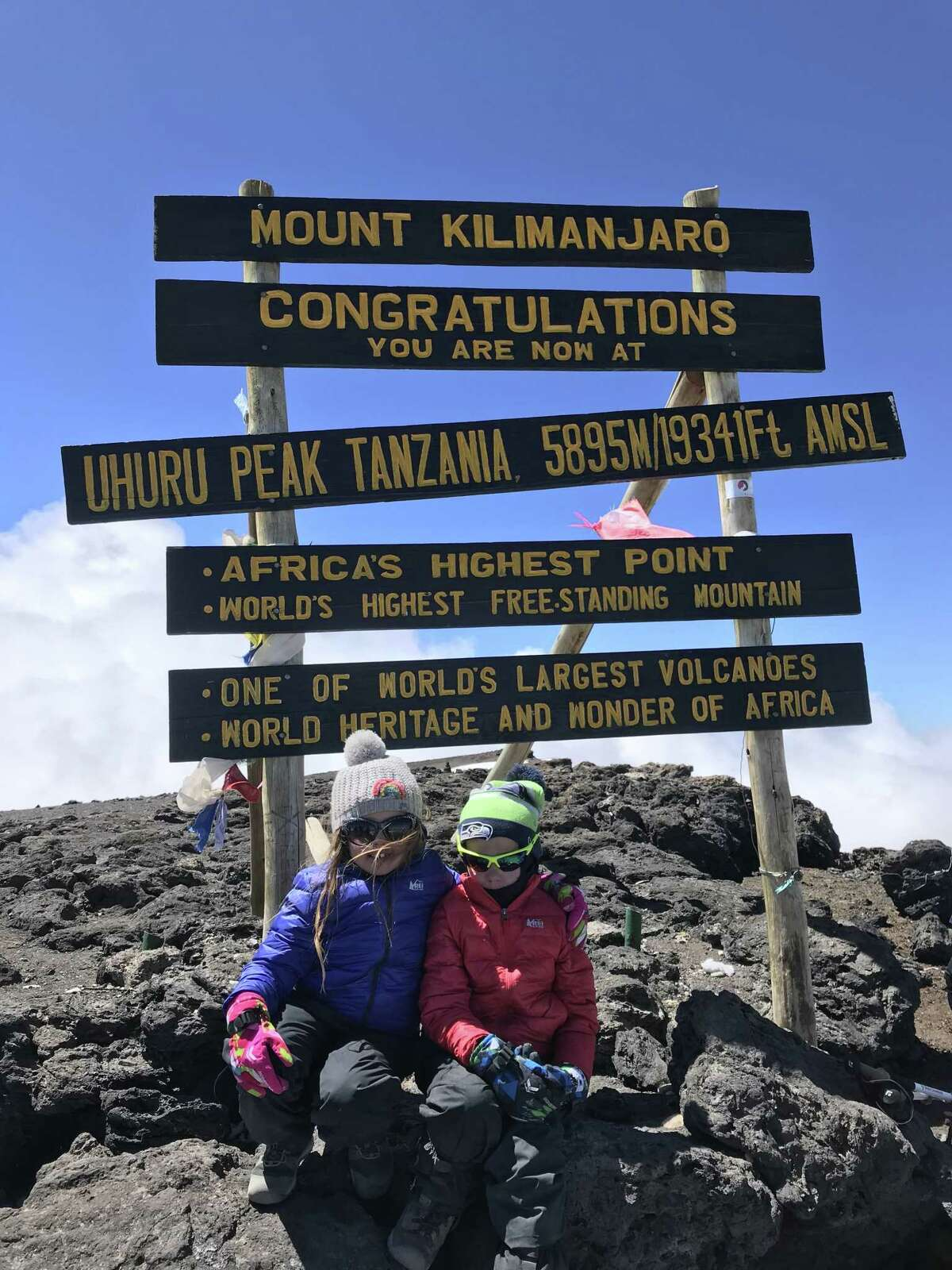 Pasadena residents Joel Redmond and his sister Charlie, climbed Mount Kilimanjaro, the highest mountain in Africa, in January with their parents, Joel Redmond Sr. and Jodi Redmond. To prepare, the youngsters participated in races including the 13-mile Huntsville Half-Marathon in October.