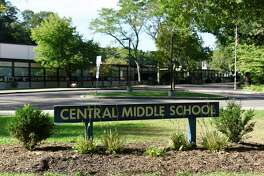 Central Middle School in Greenwich, Conn., photographed on Tuesday, Sept. 4, 2018.