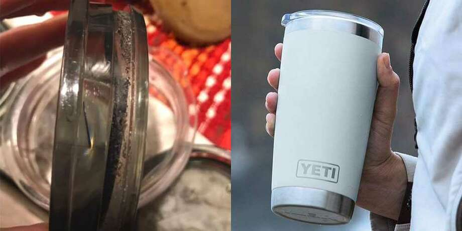 Your reusable travel mug lid is probably filled with mold — here's how to clean it