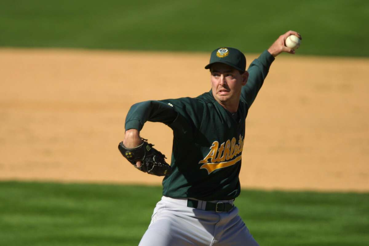 28 Feb 2002 : Micah Bowie of the Oakland A's during the Spring Training Game against the Milwaukee Brewers in Maryvale, Arizona. The A's won 16-13. DIGITAL IMAGE. Mandatory Credit: Todd Warshaw/Getty Images