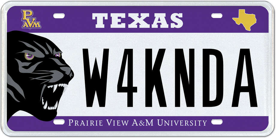 9837feaaa45 For a Prairie View A amp M University and Black Panther fan. Photo  MyPlates
