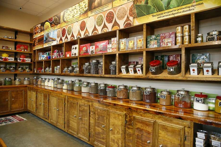 Harvest Natural Market spice and tea section gives the store a small country market feel at the new location in Katy on Westheimer Parkway on Aug. 6, 2015. Photo: Diana L. Porter, Freelance / For The Chronicle / © Diana L. Porter