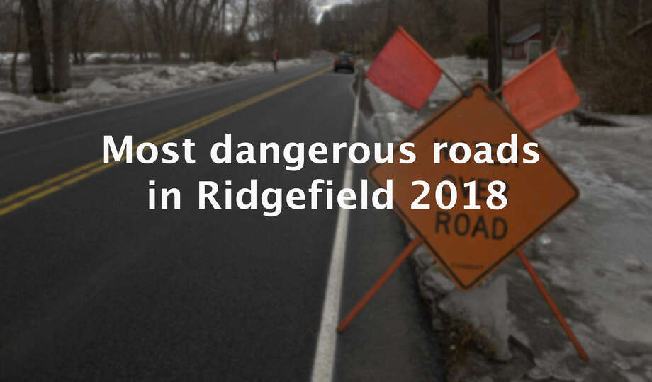 Ridgefield roads were a bit safer in 2018 with fewer accidents recorded than the previous year, according to the University of Connecticut's Connecticut Crash Data Repository. The data showed there were 453 Ridgefield crashes in 2018, a 11 percent decrease from the 509 accidents that occurred in 2017.  While the amount of accidents decreased, the locations where they occurred remained the same. >> Click through the slideshow above to see which roads were the most dangerous in Ridgefield in 2018.    Source: UConn Connecticut Crash Data Repository Photo: H John Voorhees III / Hearst Connecticut Media / The News-Times