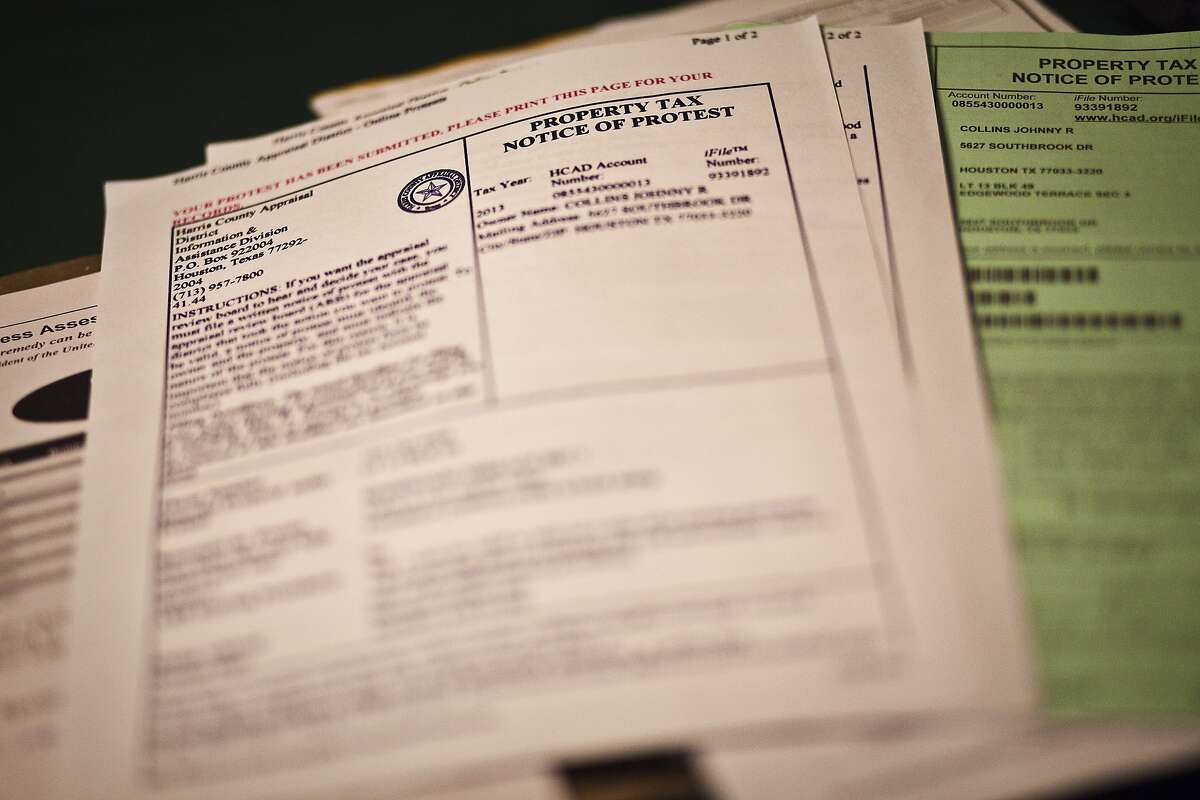 One method is to send in the form that comes in the mail with your appraisal. If the appraisal district does not mail a required notice of appraisal value on or before April 15th, the protest deadline will be 30 days after the date printed on the notice of appraised value.  (HCAD.org)