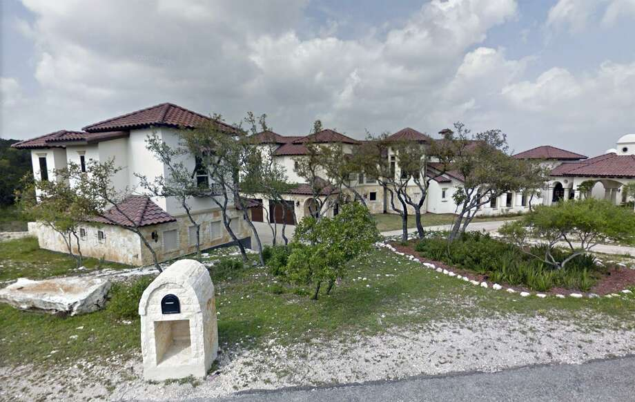 The Helotes estate owned by former state Sen. Carlos Uresti and his wife, Lleanna, had been posted for the Feb. 5 foreclosure auction. The auction for the property, at 15530 Spur Clip, was canceled. Photo: Google Maps /